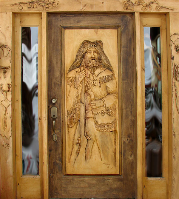 Wooden carving main doors home design elements