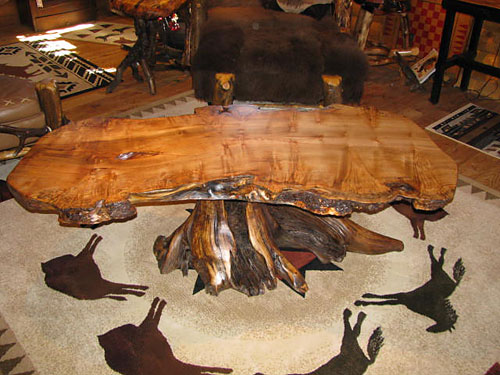 Steve Horn Gallery   Table. Horn Mountain Living   Fine  hand crafted wood furniture and home